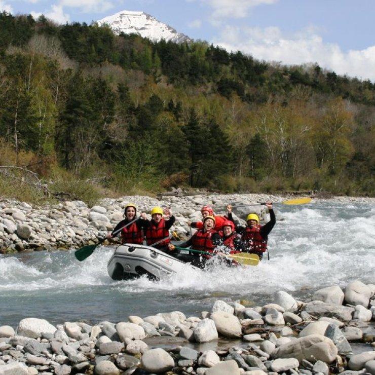 Raft dans le Champsaur avec Eau Vive Passion