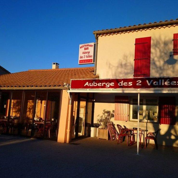 Auberge des 2 Vallées - Terrasse (Copyright : Auberge des 2 Vallées)