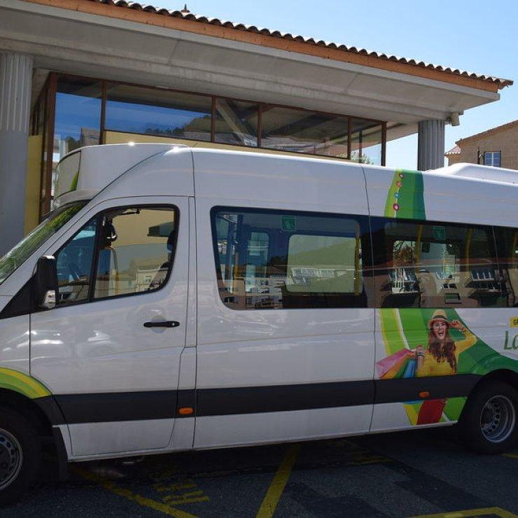 Navette gratuite Sisteron - Navette « Trèfle Cœur de Ville» (Copyright : Mairie de Sisteron)