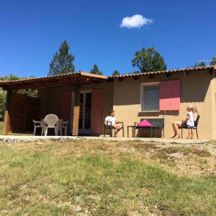 Gîtes Terres Clôt du Jay - Maisonnette (Copyright : Hautes Terres de Provence)