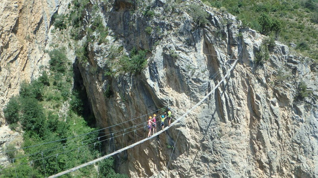 Via Ferrata (Copyright : Undiscovered Mountains)