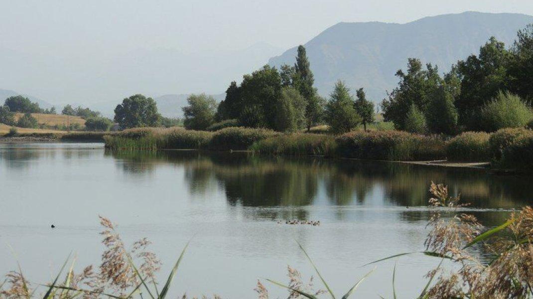 Itinéraire de rando le tour du Lac de Mison - Espace Naturel Sensible (Copyright : Office de Tourisme Sisteron Buëch)