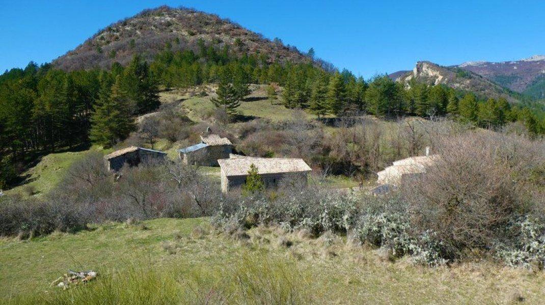 Itinéraire de rando Saint Symphorien - Saint Symphorien (Copyright : Communauté de Communes Sisteronais Buëch)