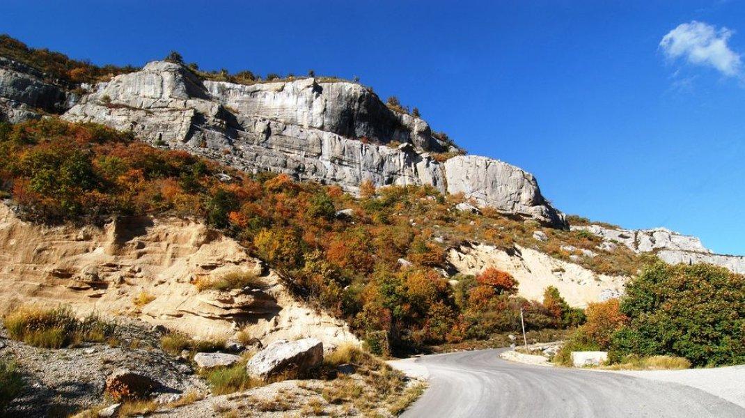 Itinéraire de rando - Défilé de Pierre Ecrite (Copyright : Office de Tourisme Sisteron Buëch)