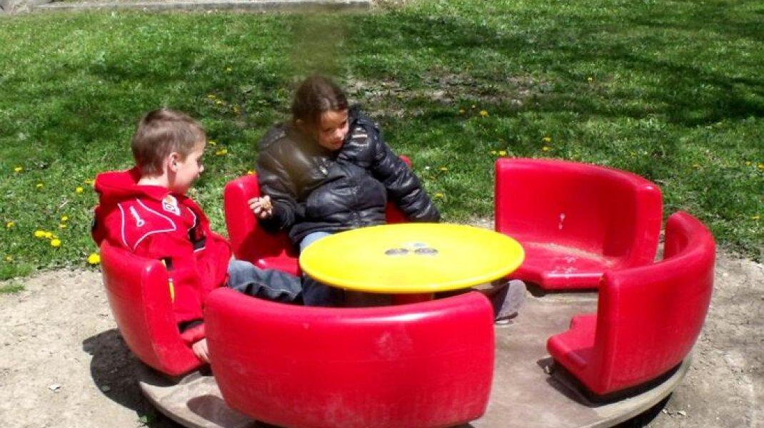 Jardin public de Rosans - Tourniquet