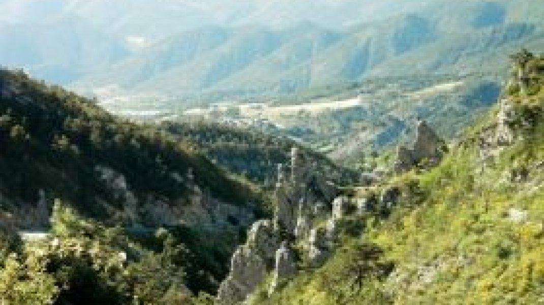 Circuit cyclo 2 - Les 3 Gorges - Valdoule Bruis (Copyright : Office de Tourisme Sisteron Buëch)