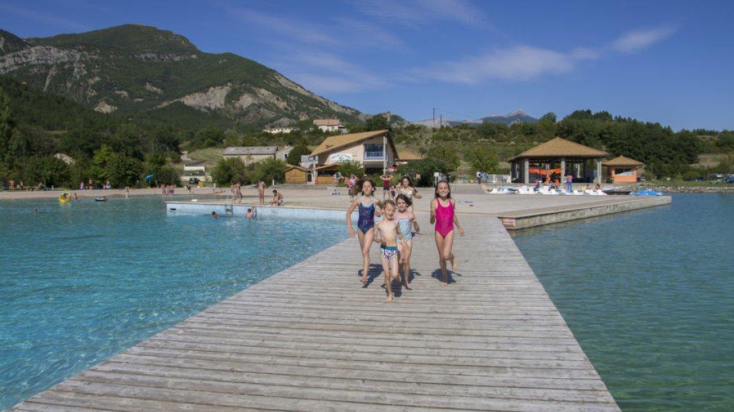 Base de loisirs de la Germanette - La plage à la montagne (Copyright : Xavier Mordefroid)