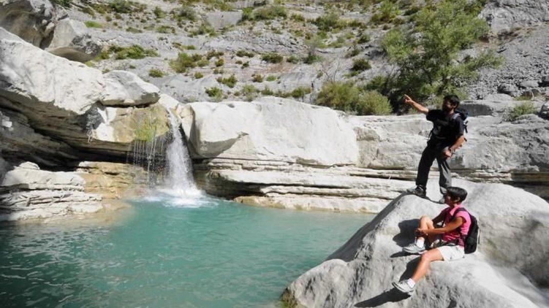 Randonnée - Gorges de la Méouge (Copyright : Office de Tourisme Sisteron Buëch)