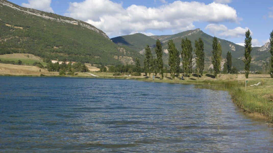 Lac de pêche de la Germanette - Lac de pêche de la Germanette (Copyright : Eric Burlet)
