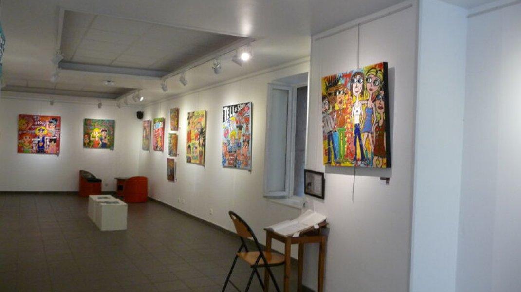 Galerie Domnine à Sisteron - Galerie - expositions temporaires (Copyright : Office de Tourisme Sisteron Buëch)