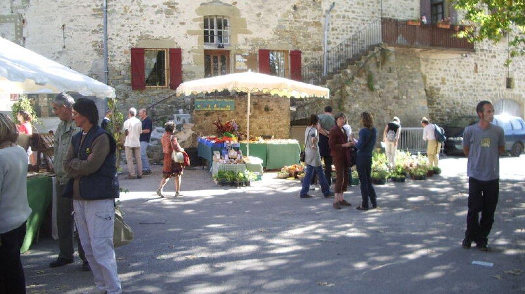 Marché de Rosans - Marché de Rosans (Copyright : Office de Tourisme Sisteron Buëch)