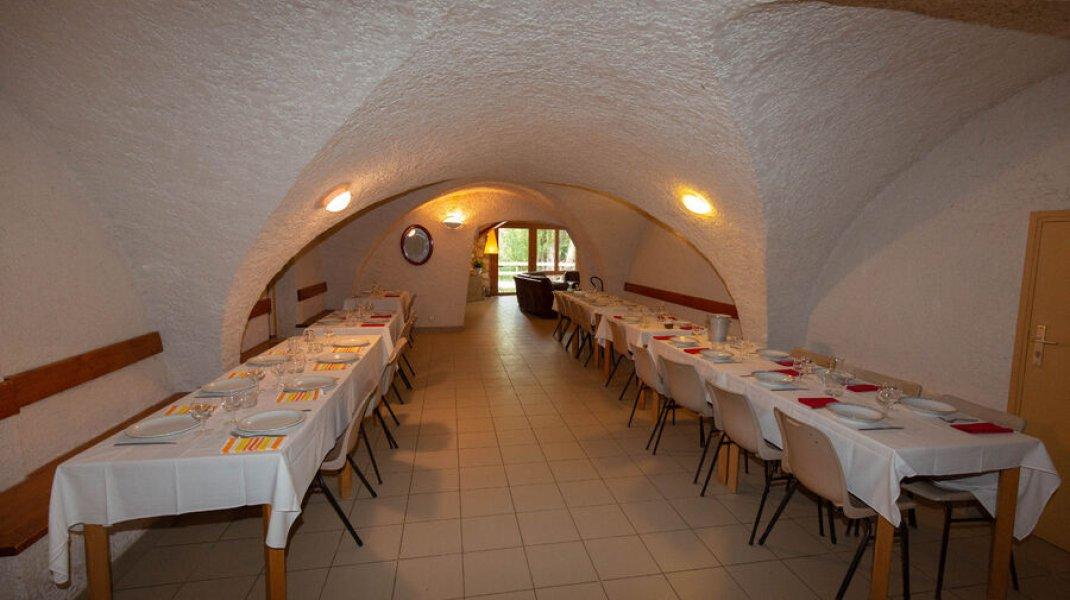 Gîte du Boissillon - Table de réception (Copyright : Gîte du Boissillon)