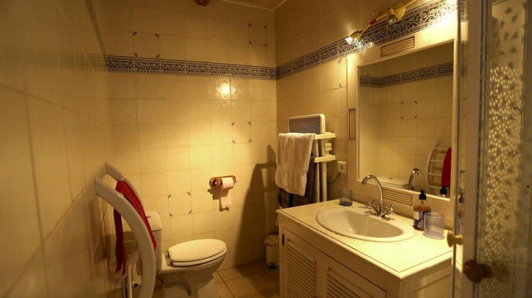 Salle de bains avec douche (Copyright : Gîtes de France)