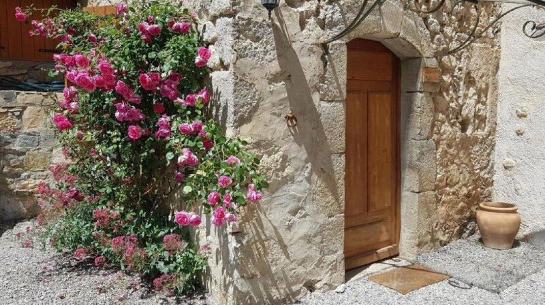 Entrée de la chambre (Copyright : Gîtes de France)