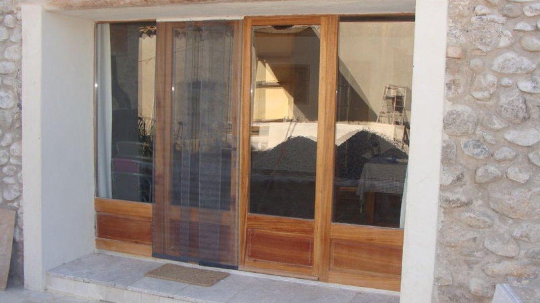 Les gîtes d'Eliane - Un air de campagne - Entrée (Copyright : Office de Tourisme Sisteron Buëch)
