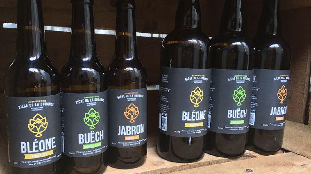 La Bière de la Durance - Gamme de bières (Copyright : La Bière de la Durance)