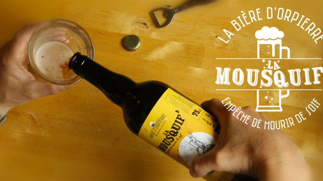 La Mousquif', la bière d'Orpierre - La bière qui empêche de mourir de soif ! (Copyright : Into the Cliff)