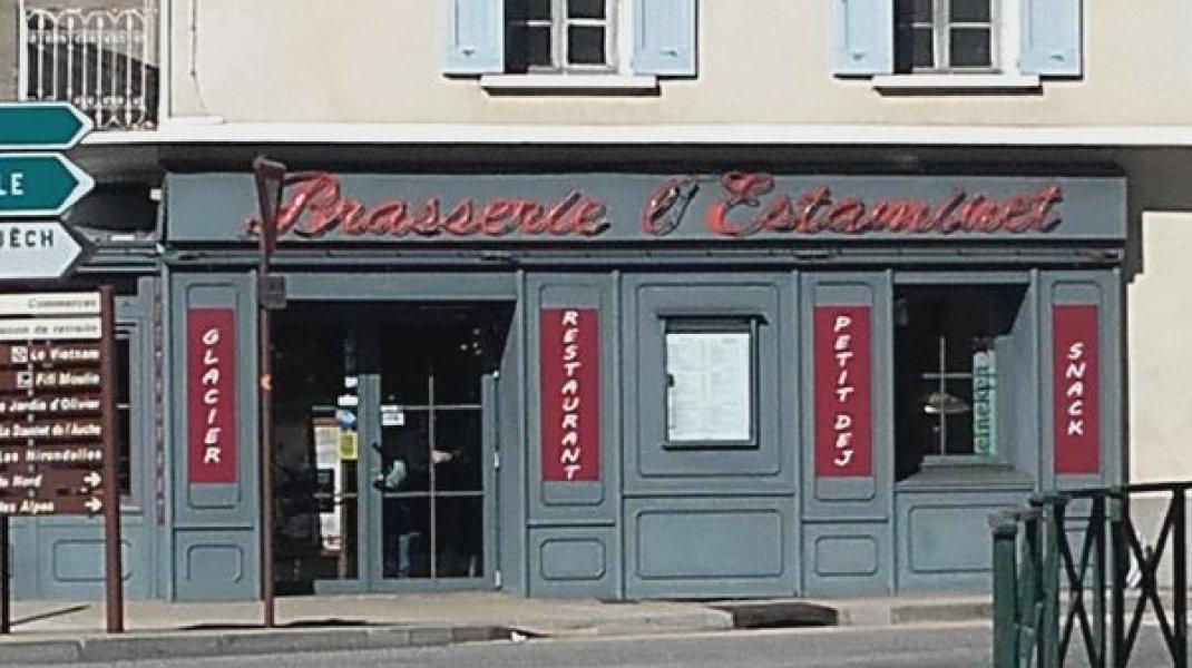 Brasserie L'Estaminet - Brasserie L'Estaminet à Serres (Copyright : Office de Tourisme Sisteron Buech)