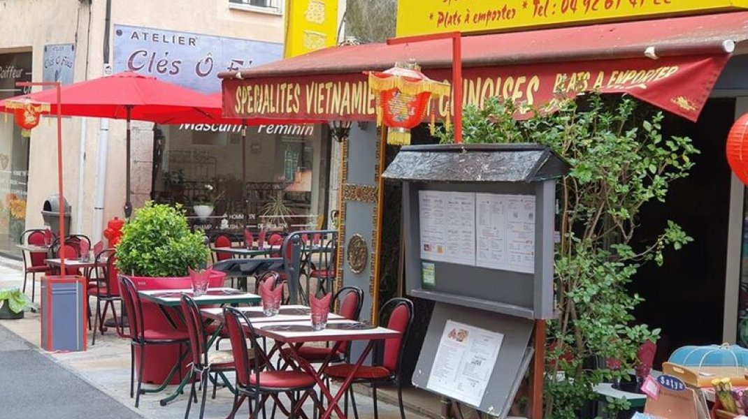 Restaurant Hong Phuoc à Sisteron - La terrasse (Copyright : Hong Phuoc)