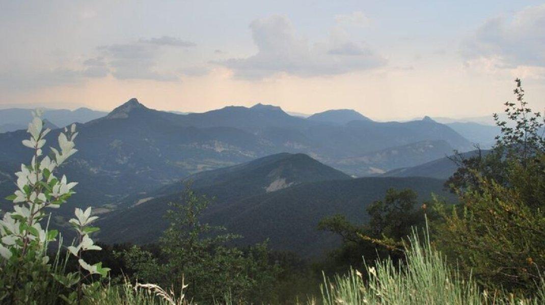 Jolie lueur sur les hauteurs du Duffre (Copyright : Communauté de communes du Sisteronais Buëch)