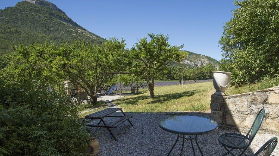 Terrasse extérieure (Copyright : L.Ravel)