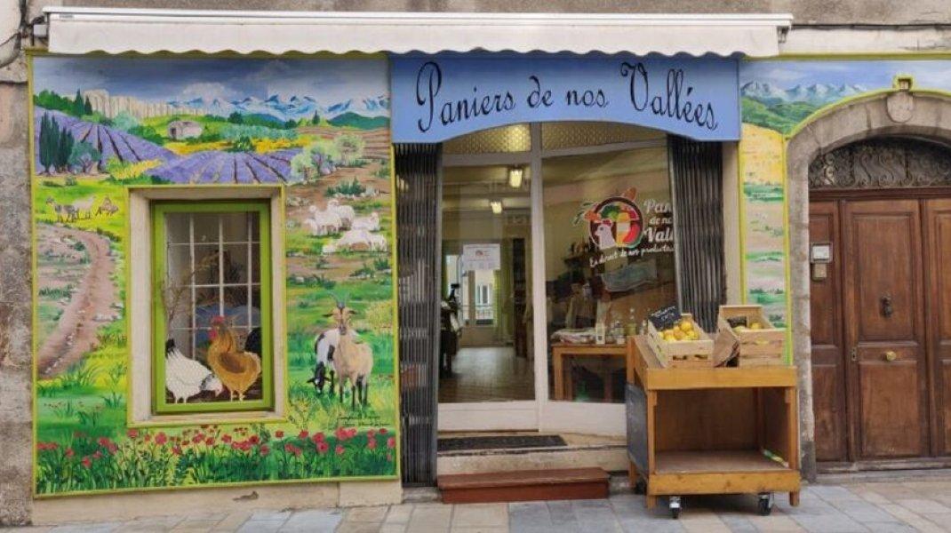 Magasin de producteurs locaux - Sisteron - Paniers de nos vallées (Copyright : Paniers de nos vallées)