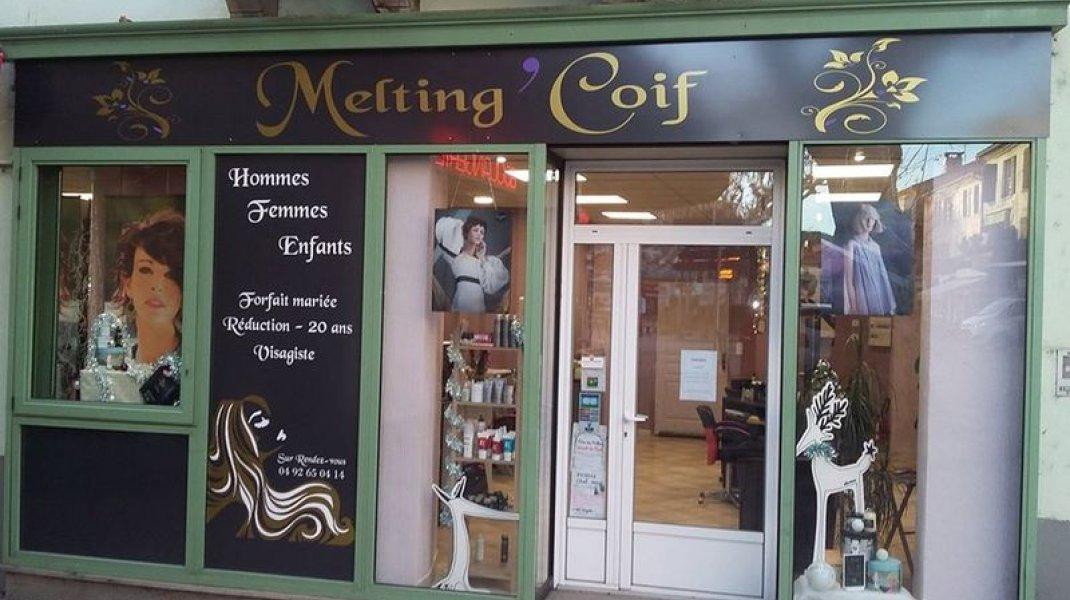 Salon de coiffure - Melting'Coif - Entrée (Copyright : Office de Tourisme Sisteron Buëch)