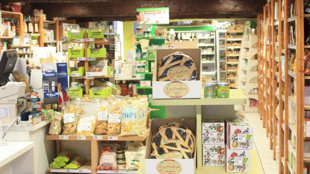 Épicerie Biomonde Laragne - Gourmandises (Copyright : Office de Tourisme Sisteron Buëch)