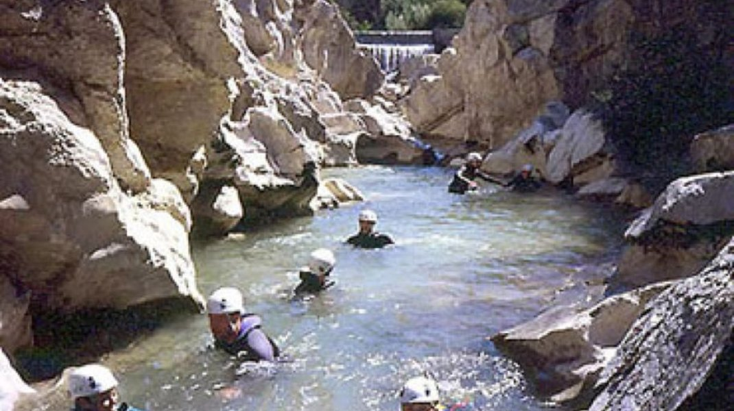 Hautes Alpes canyoning - Pra Reboul (Copyright : OIT Motte Turriers)