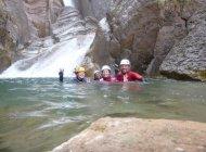 Canyon de Tines - Canyon près de Sisteron (Copyright : Hautes-Alpes Canyoning)