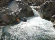 Canyon de Tines - Jacuzzi (Copyright : Hautes-Alpes Canyoning)