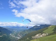 Paragliding (Copyright : Undiscovered Mountains)