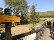 Itinéraire de rando le tour du Lac de Mison - Sentier aménagé (Copyright : Office de Tourisme Sisteron Buëch)