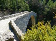 Itinéraire de rando Saint Symphorien - Pontde la Reine Jeanne (Copyright : Communauté de Communes Sisteronais Buëch)