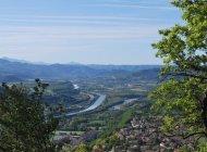 Sentier botanique du Molard à Sisteron - La Durance (Copyright : Communauté de Communes Sisteronais Buëch)