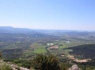 Randonnée le Trou de l'Argent à Sisteron - Panorama sur le Sisteronais (Copyright : Office de Tourisme Sisteron Buëch)