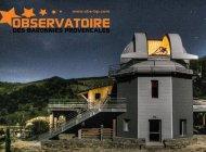 Observatoire des Baronnies Provençales - La coupole de l'Observatoire (Copyright : Observatoire des Baronnies Provençales)