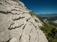 Site d'escalade du Col Saint Ange - Falaise du Col Saint Ange (Copyright : Ricardo Flores Espinosa)