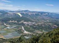 Site international de vol libre de Laragne Chabre - En parapente au dessus de la vallée du Buëch (Copyright : Xavier Mordefroid)