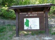 Sentier du Molard - Panneau d'information (Copyright : Office de Tourisme Sisteron Buëch)
