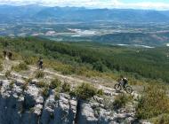 Circuit VTT Le Tour de Chabre - A VTT sur la Montagne de Chabre (Copyright : Patrice - Grand Sud Mag)