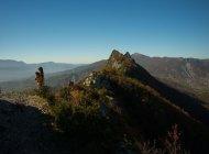 Itinéraire de rando Le Roc de l'Aigle - Incroyable vue sur les Pays du Buëch et du Sisteronais (Copyright : Communauté de Communes Sisteronais Buëch)