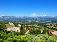 Aire de pique nique de la Tour d'Upaix - Panorama depuis la Tour d'Upaix (Copyright : Office de Tourisme Sisteron Buëch)