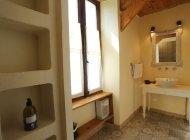 Gîtes du Moulin Orpierre - Vasque dans chambre (Copyright : L. Ravel)