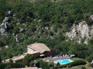 Aco de Roman - Gîte Colline - Vue aérienne (Copyright : Gîtes de charme haute provence)
