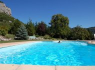Aco de Roman - Gîte Colline - La piscine (Copyright : Gîtes de charme haute provence)