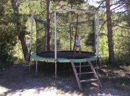 Gîtes Terres Clôt du Jay - Trampoline (Copyright : Hautes Terres de Provence)
