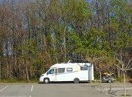 Mison - Stationnement camping cars (Copyright : Office de Tourisme Sisteron Buëch)