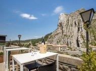 La Nouvelle Citadelle - Terrasse vue sur le rocher de la Baume (Copyright : Serfigroup)
