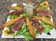 Le Maypop à Laragne - Salade repas (Copyright : Le Maypop)